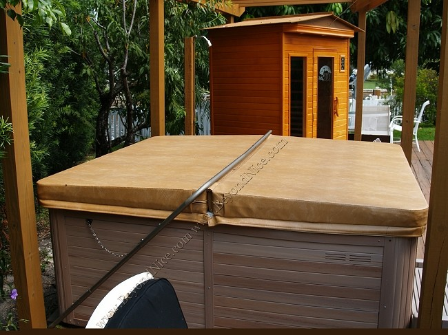 Design-Your-Own hot tub covers