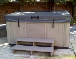 LA Spas hot tub covers