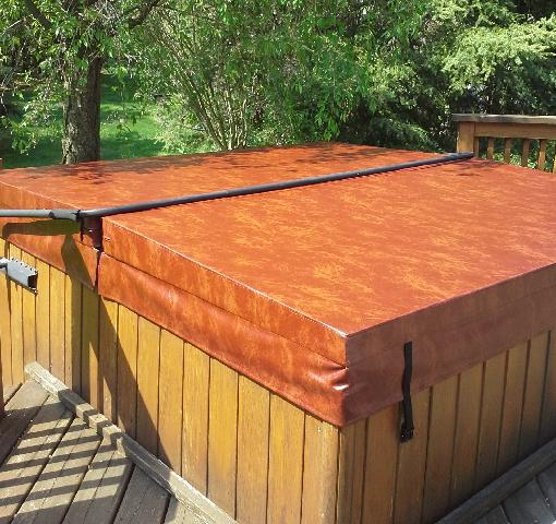 Hot tub cover - After