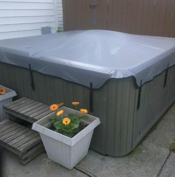 Soft hot tub covers