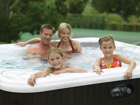Family safety is the first concern for hot tub spas