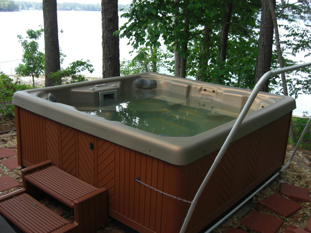 Care for your hot tub