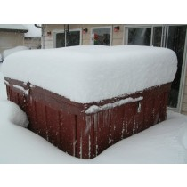 """ULTRA 6"""" tapering to 4"""" Hot Tub Cover 2.0# (R27-R37)"""