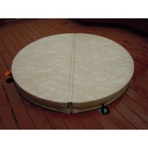 Walk On Hot Tub Spa Covers Support 400 Pounds